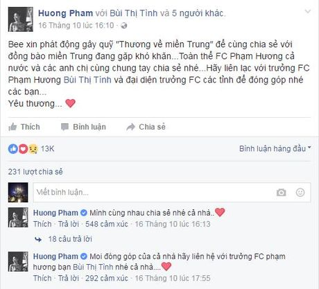 Sao Viet tich cuc keu goi ung ho dong bao mien Trung - Anh 6