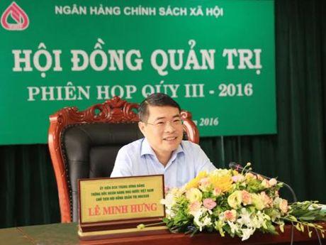 Thong doc NHNN: Ngan hang Chinh sach chu trong dia phuong bi thien tai - Anh 1