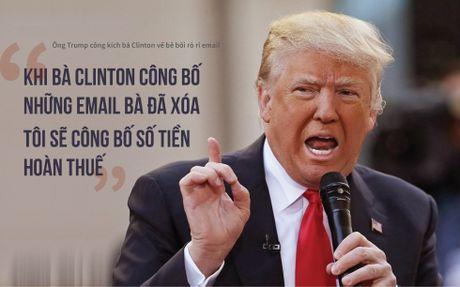 'Don doc' trong khau chien Trump-Clinton - Anh 3