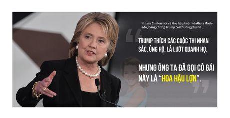 'Don doc' trong khau chien Trump-Clinton - Anh 4