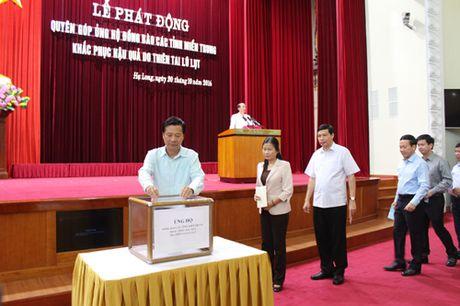 Da Nang, Quang Ninh ung ho nguoi dan vung lu gan 8 ty dong - Anh 2