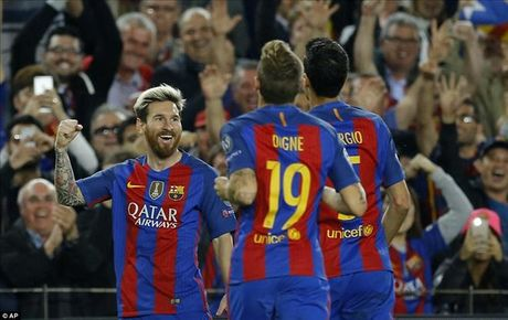 Barcelona 4-0 Man City: Messi va Bravo khien Pep chet lang o Camp Nou - Anh 1