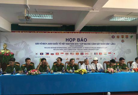 Giai vo dich Judo Quoc te Viet Nam 2016: Dua them Para Judo vao thi dau - Anh 1