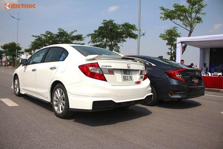 Honda Civic 'thay da, doi thit' sau 10 nam co mat o VN - Anh 21
