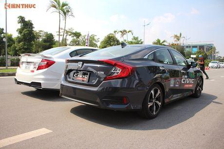 Honda Civic 'thay da, doi thit' sau 10 nam co mat o VN - Anh 3