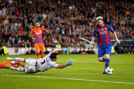 Messi khien Guardiola cui mat roi san Nou Camp - Anh 2