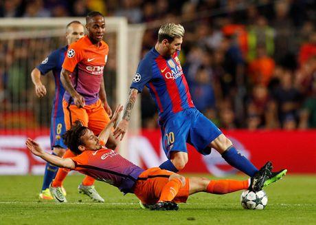 Barcelona - Man City: Su khac biet ve dang cap - Anh 1