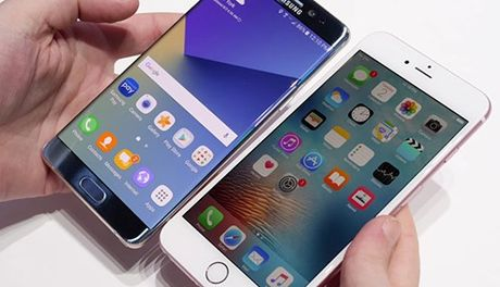 Khoang 5-7 trieu khach hang Samsung chuyen sang iPhone 7 - Anh 1