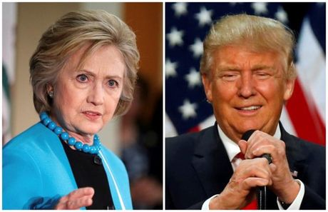 Phat ngon an tuong cua ong Trump va ba Hillary trong cuoc tranh luan thu 3 - Anh 1