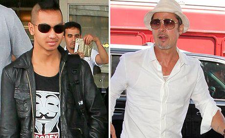 Con trai ca tu choi gap Brad Pitt - Anh 1