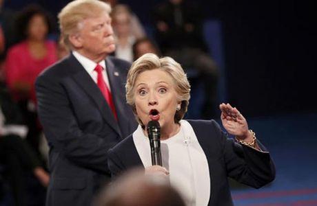 Ba Clinton, ong Trump vao tran quyet dinh - Anh 1