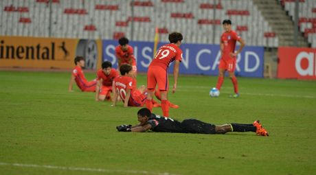 U19 Han Quoc bi loai, U19 Viet Nam kho mo World Cup - Anh 1