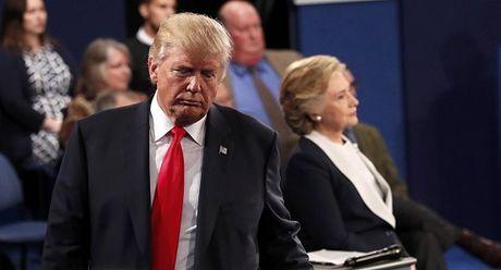 Hau tranh luan Trump-Clinton: The tran da dinh hinh - Anh 1