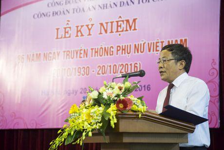 TANDTC to chuc Le ky niem 86 nam Ngay truyen thong Phu nu Viet Nam - Anh 1