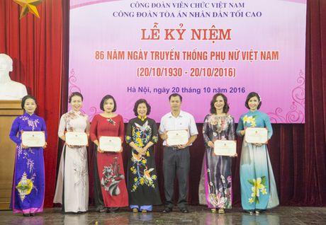 TANDTC to chuc Le ky niem 86 nam Ngay truyen thong Phu nu Viet Nam - Anh 2