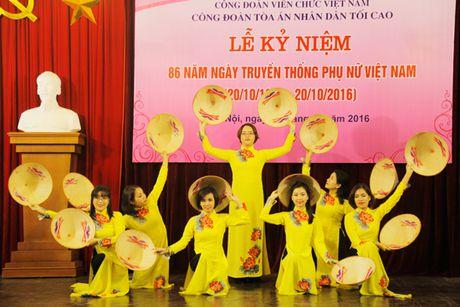 TANDTC to chuc Le ky niem 86 nam Ngay truyen thong Phu nu Viet Nam - Anh 4