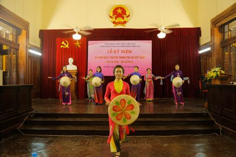 TANDTC to chuc Le ky niem 86 nam Ngay truyen thong Phu nu Viet Nam - Anh 5