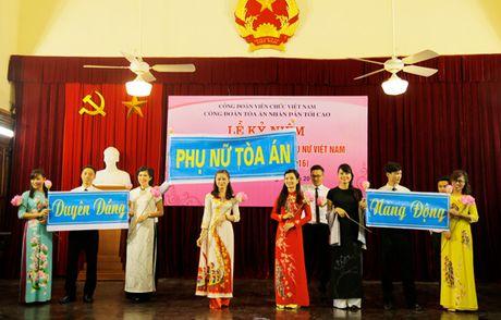 TANDTC to chuc Le ky niem 86 nam Ngay truyen thong Phu nu Viet Nam - Anh 7