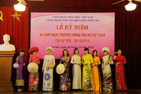 TANDTC to chuc Le ky niem 86 nam Ngay truyen thong Phu nu Viet Nam - Anh 8