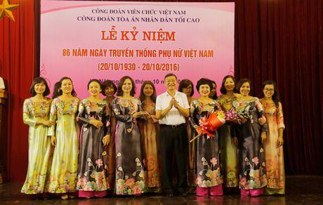 TANDTC to chuc Le ky niem 86 nam Ngay truyen thong Phu nu Viet Nam - Anh 9