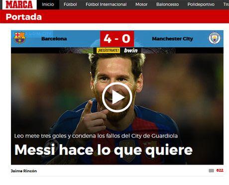 "Bao chi the gioi ton Messi nhu ""vi Thanh"", vui dap Bravo - Anh 3"