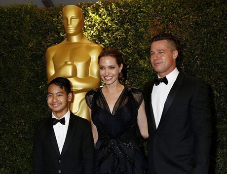 Con trai lon Maddox tu choi gap Brad Pitt - Anh 1