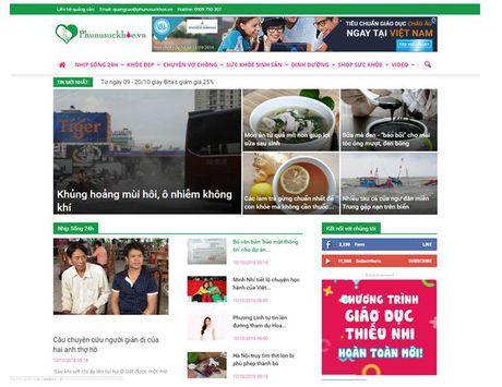 Chuyen trang Phu nu Suc khoe – Bao Gia dinh Viet Nam ra mat doc gia - Anh 1