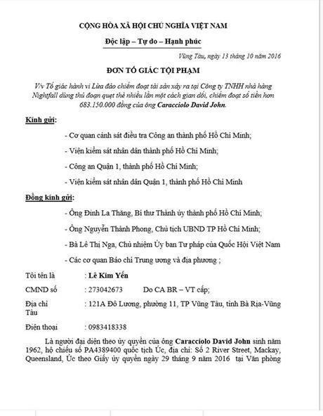 Vu khach Tay quet the mat 700 trieu dong: De nghi khoi to vu an - Anh 1