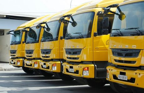 DHL Supply Chain 'tau' 18 xe Fuso Fighter FJ - Anh 2