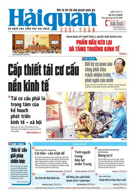 Nhung tin, bai hap dan tren Bao Hai quan so 127 phat hanh ngay 23-10-2016 - Anh 1
