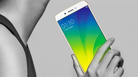 Oppo R9s/R9s Plus ra mat: chuyen selfie, RAM 6GB - Anh 1