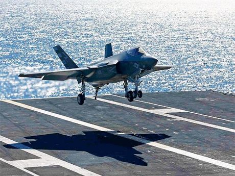 My phat trien he thong ha canh tu dong moi cho F-35 - Anh 1