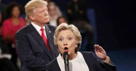 Nhung diem nong trong phien 'dau khau' cuoi cung giua ong Trump va ba Clinton - Anh 1