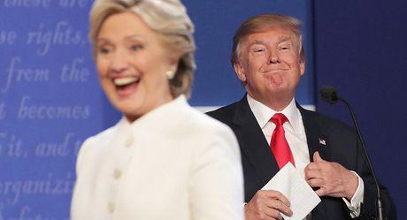 Phat ngon noi bat cua ba Clinton va ong Trump trong cuoc tranh luan cuoi cung - Anh 1