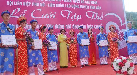 Ron rang le cuoi tap the tai huyen Ung Hoa - Anh 2