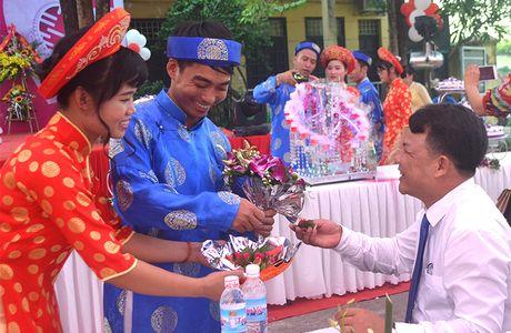 Ron rang le cuoi tap the tai huyen Ung Hoa - Anh 7