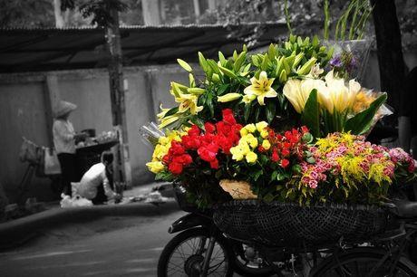Chum anh dep nuc long nhung ganh hang hoa chi Ha Noi moi co - Anh 4