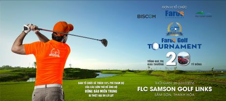 Sap khoi tranh giai Faros Golf Tournament lan thu 2 - Anh 1