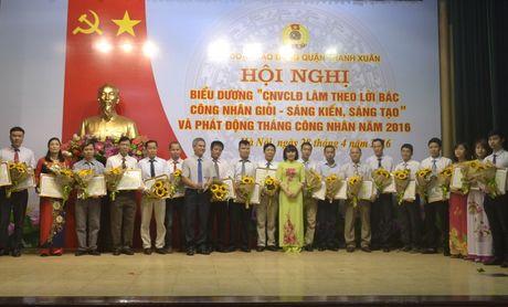 LDLD quan Thanh Xuan: Hoan thanh som chi tieu phat trien doan vien - Anh 1