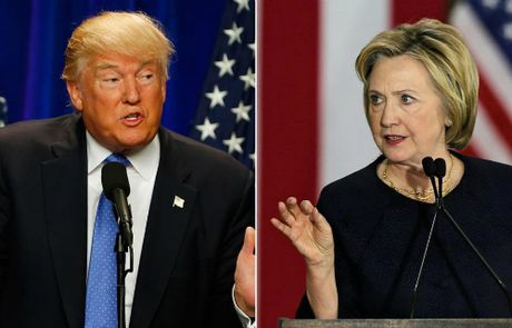Trump - Clinton chuan bi buoc vao cuoc tranh luan truc tiep cuoi cung - Anh 1