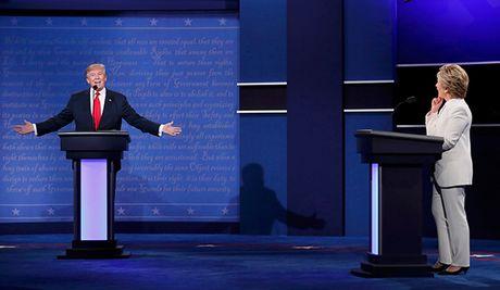 Dau khau quyet liet, Trump - Clinton khong bat tay khi ket thuc tranh luan - Anh 14
