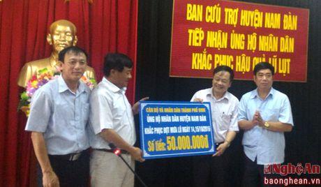 TP Vinh ho tro 100 trieu dong cho Hung Nguyen va Nam Dan - Anh 1
