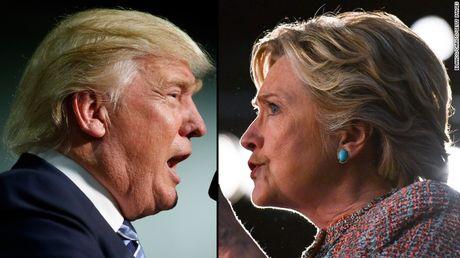 Trump - Clinton quyet dau trong buoi tranh luan cuoi cung - Anh 1