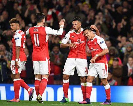 Arsenal thang tung bung Ludogorets 6 - 0 - Anh 1