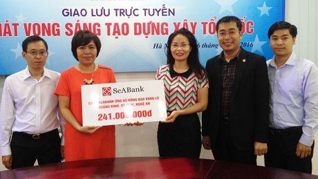 SeaBank ung ho dong bao vung lu 241 trieu dong - Anh 1