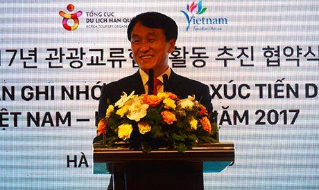 Viet Nam dat muc tieu don 2 trieu du khach Han Quoc vao nam 2017 - Anh 1