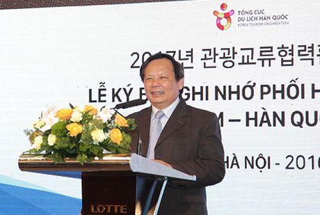 Viet Nam dat muc tieu don 2 trieu du khach Han Quoc vao nam 2017 - Anh 2