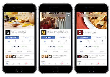Facebook ra loat tinh nang ho tro nguoi dung an choi, du lich - Anh 1