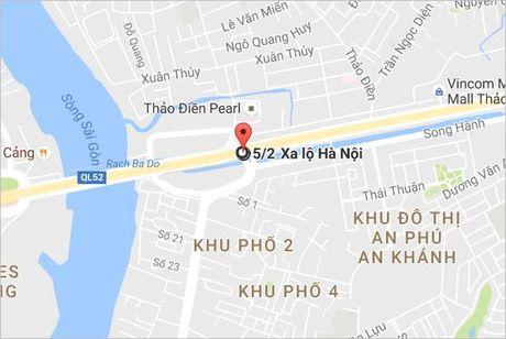 2 tai nan lien tuc tren xa lo Ha Noi, 3 nguoi bi thuong - Anh 3