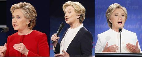 Y nghia bo do trang cua Clinton trong lan tranh luan cuoi - Anh 1